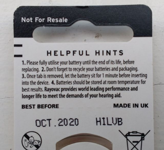 Costco batteries - Hearing Aids - Hearing Aid Forum - Active