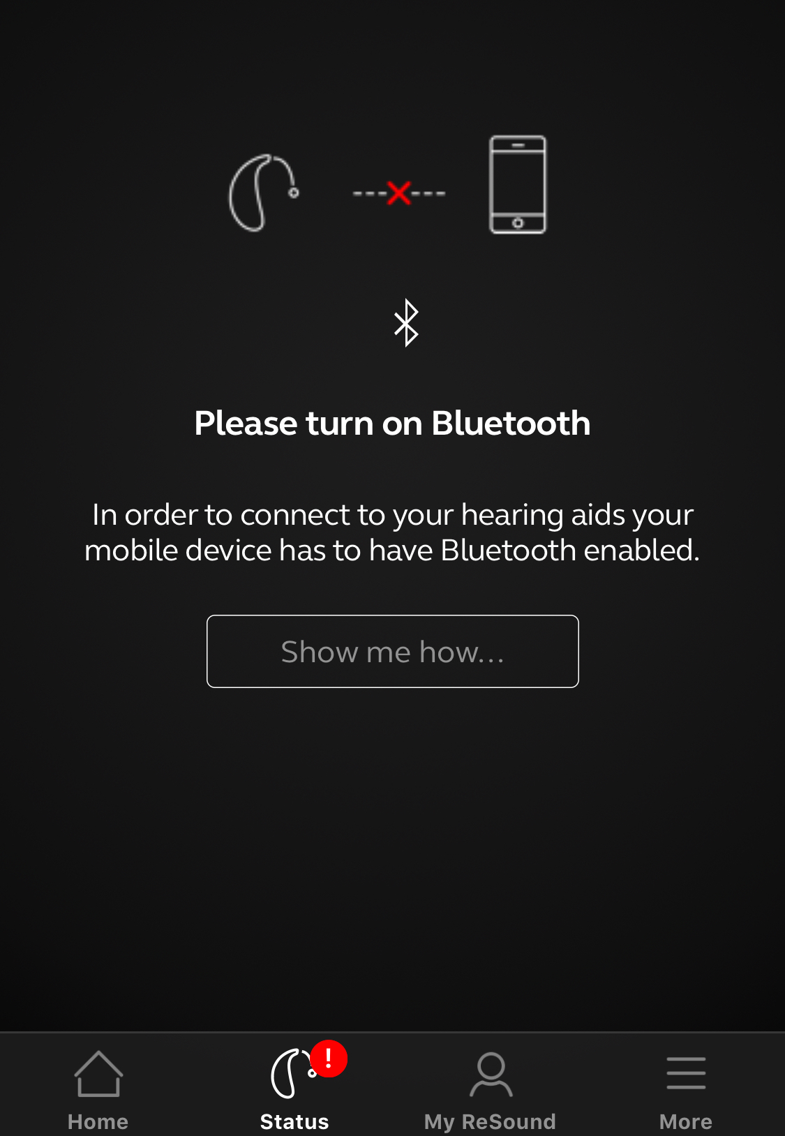 Resound App Bluetooth Issue - Hearing Aids - Hearing Aid