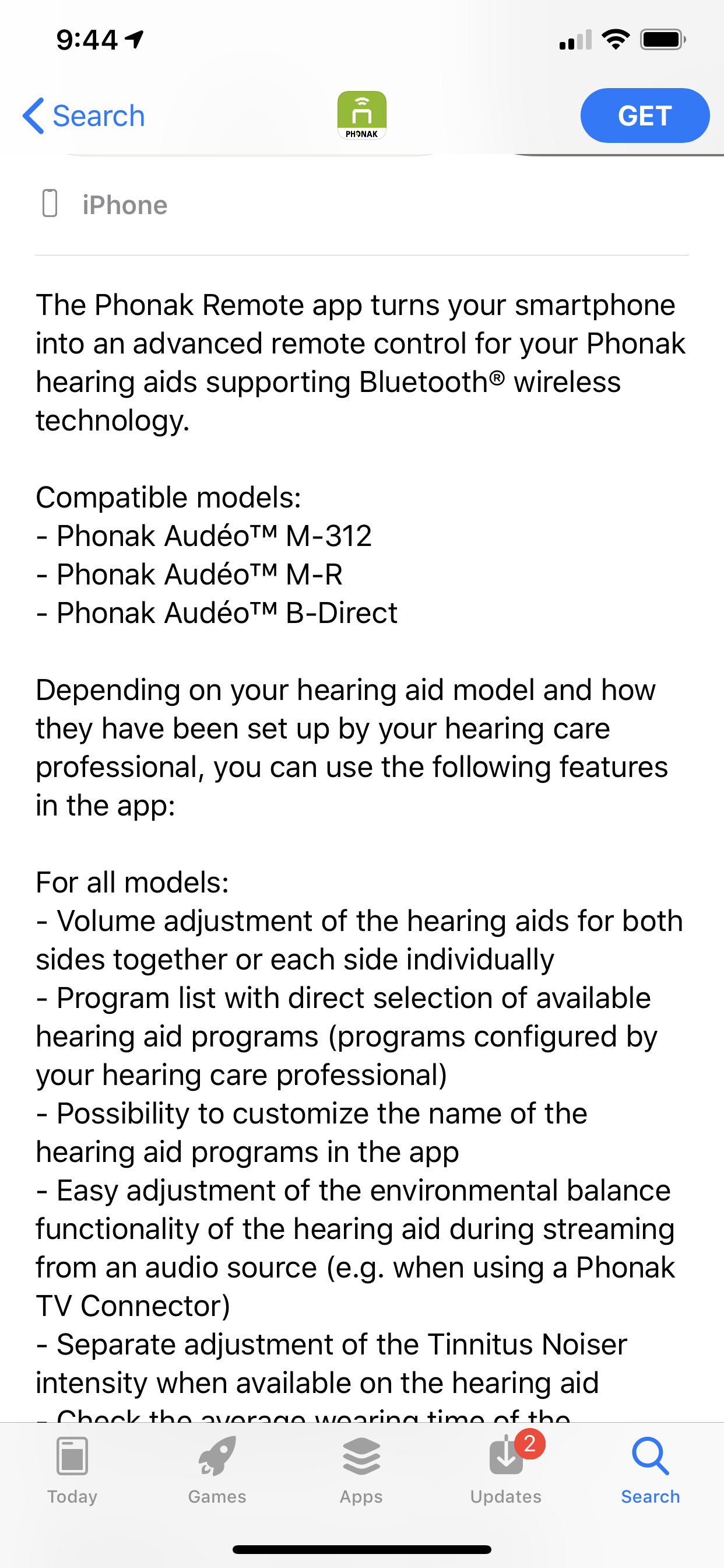 Phonak Remote app for Apple Watch? - Hearing Aids - Hearing Aid