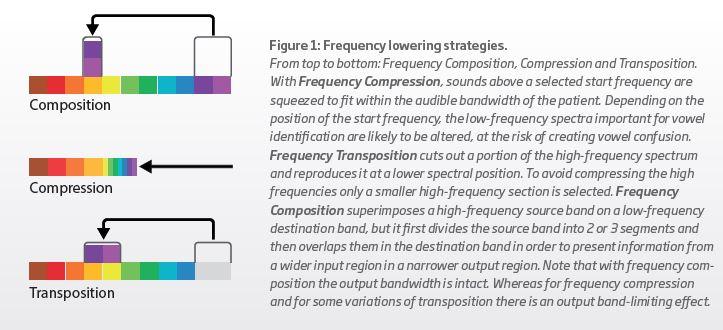 Frequency lowering strategies