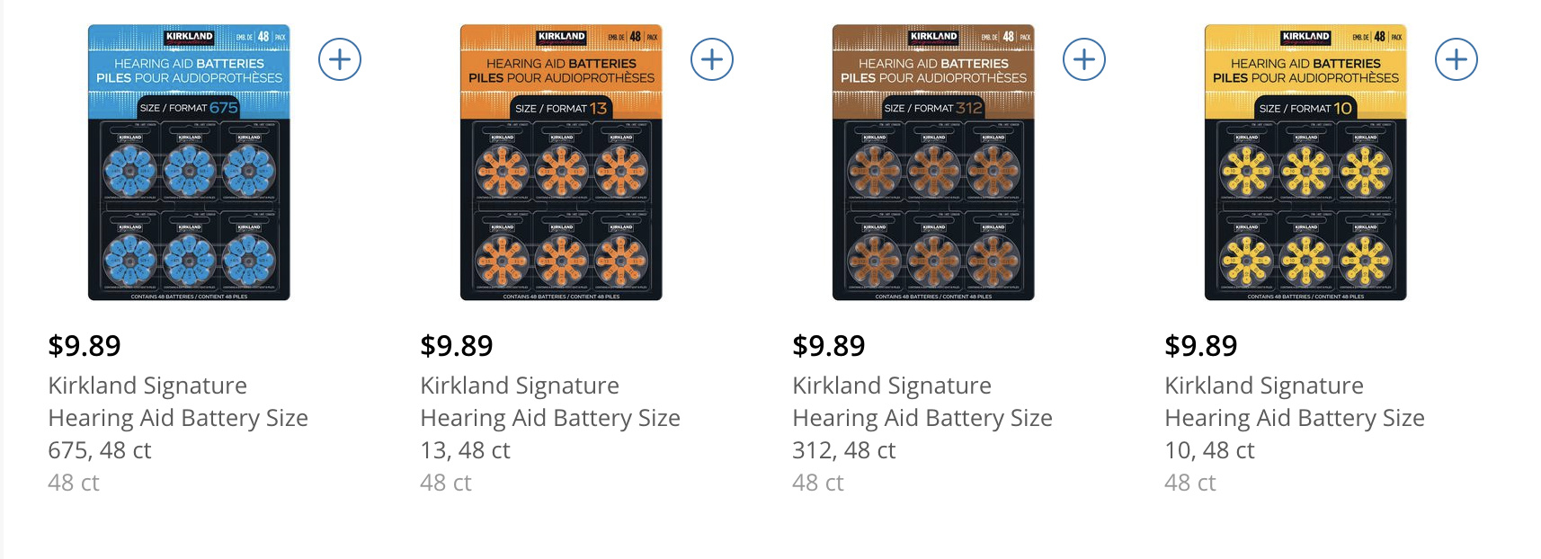 How Much Do Hearing Aid Batteries Cost At Costco Question And Answer Hearing Aid Forum Active Hearing Loss Community